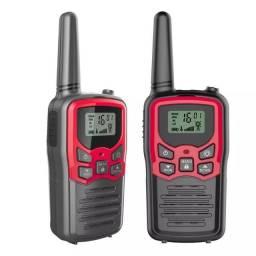 Radio comunicador Walkie-talkie 2 un -  2 vias até 8 km de alcance