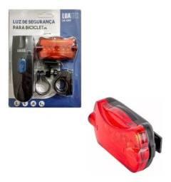 Luz De Segurança Para Bicicleta Luatek Lk-029