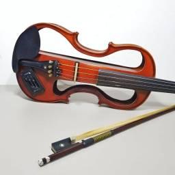 Título do anúncio: Violino Eagle Elétrico e Semi Acústico