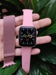 ULTIMA UNIDADE! Smartwatch IWO W26 LITE + BRINDE PULSEIRA METÁLICA