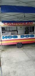 Vendo trailer de hot dog