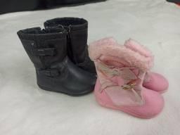 Título do anúncio: Sapatos infantis 1 a 2 anos