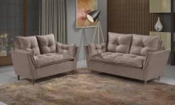 Sofa luxo 2 e 3 lugares