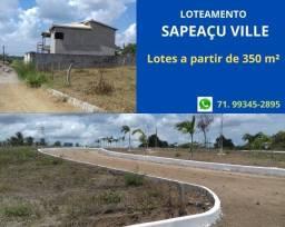 Título do anúncio: Sapeaçu Ville, lotes a partir de 350 m², escriturado, ótima localização. vista panorâmica