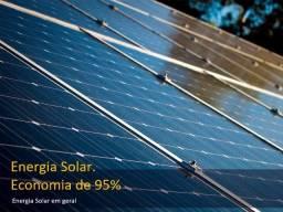 Energia Solar. Economia de 95%