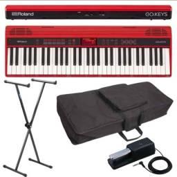 Teclado Roland Go Keys - Kit Completo