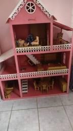 Casa Boneca  rosa