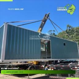 Residência ou comercio em modulo ou container 30m²