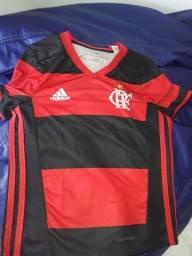 Camisa ofícial Flamengo tamanho 6 anos