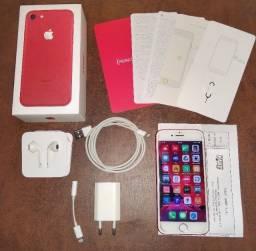 Iphone 7 128GB (com nota fiscal, caixa, acessórios), pra vender rápido! Leia anúncio!
