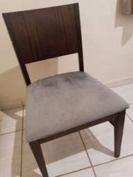 Cadeira madeira pura