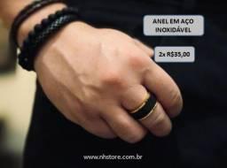 Anel em aço Inoxidável - Preço especial 2x R$35,00