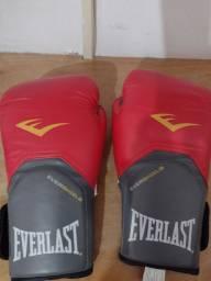 Título do anúncio: Luvas Everlast + atadura