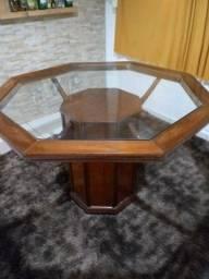 Mesa com cadeira sala de jantar