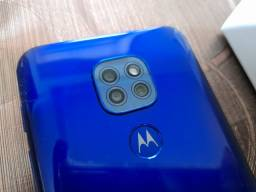 "Moto G9, 64Gb/4Gb, Tela 6,5"", 3 câmeras 48Mp+8+5, Android 11, manual nota"