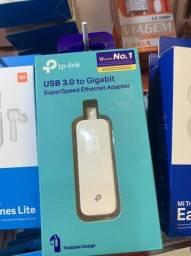 Adaptador USB para RJ45 - Gigabit - TP-Link UE300 - USB 3.0