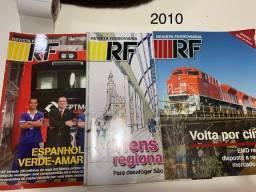 Revista Ferroviária - RF  Lote com Ano 71  (2010)