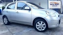 Nissan March S 1.0 Flex Completo 2013, Impecável.
