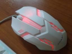 Kit Teclado com led  RGB e Mouse gamer AOAS fazemos entrega