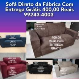 Título do anúncio: Sofá NOVO de 3 lugares <br>A PRONTA ENTREGA.