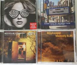 Vários CDs de House / Dance / Funk / Club /Trance/ Beats.