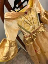 Fantasia Princesa Bella & a Fera Disney Luxo (completa)