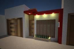 Residência para locação em construção, obras aceleradas, com 3 suites e duas garagens