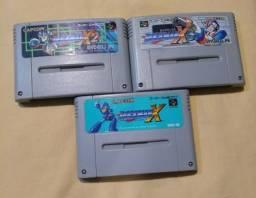 Trilogia Rockman X (Mega Man) para Super Famicom / Super Nintendo