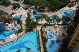 Apartamento 2 quartos para temporada em caldas novas, ecologic park, 2 dormitórios, 1 suít