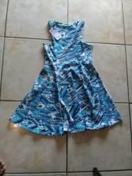 Vendo vestida azul 20 reais