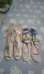 Vendo calçados $ 2,00 e 3,00 reais