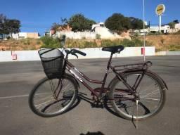 Bicicleta feminina Braciclo aro 26 semi-nova divido no cartão