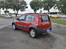 ENTRADA REDUZIDA! Fiat Uno Way 1.4 2013 na rafa veiculos kkl - 2013