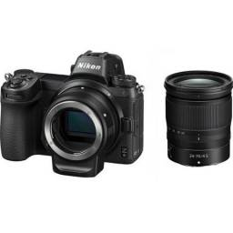Nikon Z6 Mirrorless Camera E Lente Z 24-70 E Adaptador Ftz
