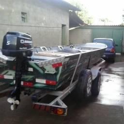 Berco de canoa