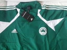 Agasalho Panathinaikos Grécia-Original Adidas 8abdec6ee9de8