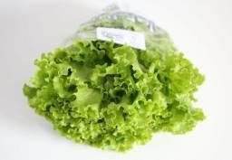 Cesta de produtos orgânicos certificados.