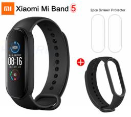 Pulseira Xiaomi Mi Band 5 + Película e Brinde