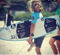 Deck prancha de surf- conjunto dianteiro e traseiro