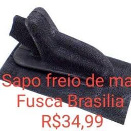 Sapo acabamento do freio de mao Fusca Brasilia Fabricado Borracha