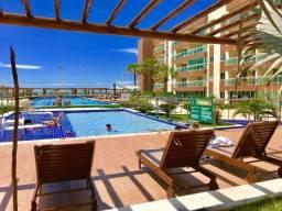 Apartamento mobiliado com 3 quartos na Beira Mar da Praia do Futuro