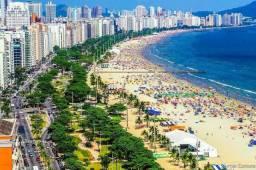 Alugo Quitinete em Santos-SP para finais de semana e férias