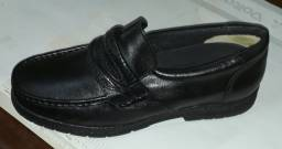 Sapatos galvani tradicional couro novos