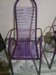 Cadeiras de praia novas p sair hj as duas