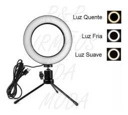 Iluminador ring light led para tirar fotos