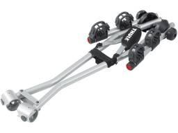 Thule xpress rack transbike engate reboque 2 bicicletas
