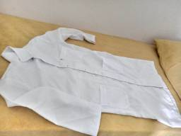 Jaleco branco masculino tamanho p