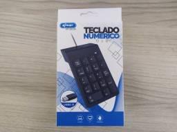 Teclado Númerico USB - Muito Bom Para Notebook