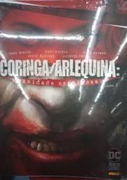 Livro HQ Capa Dura Coringa/Arlequina
