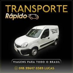 TRANSPORTE RÁPIDO PARA TODO BRASIL